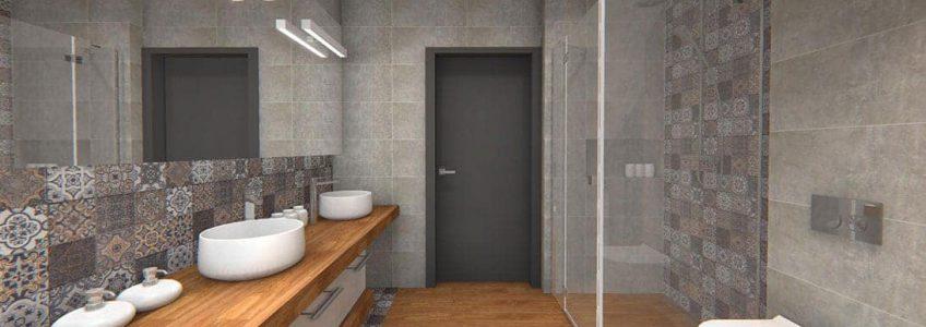 Moda na kabiny prysznicowe walk-in