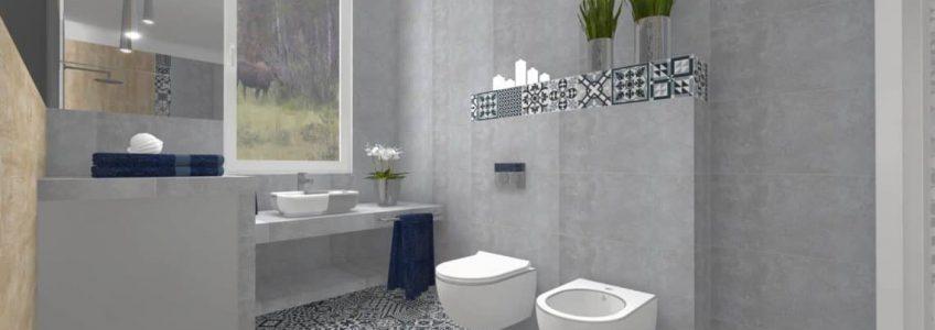 Mozaika - element dekoracyjny łazienki