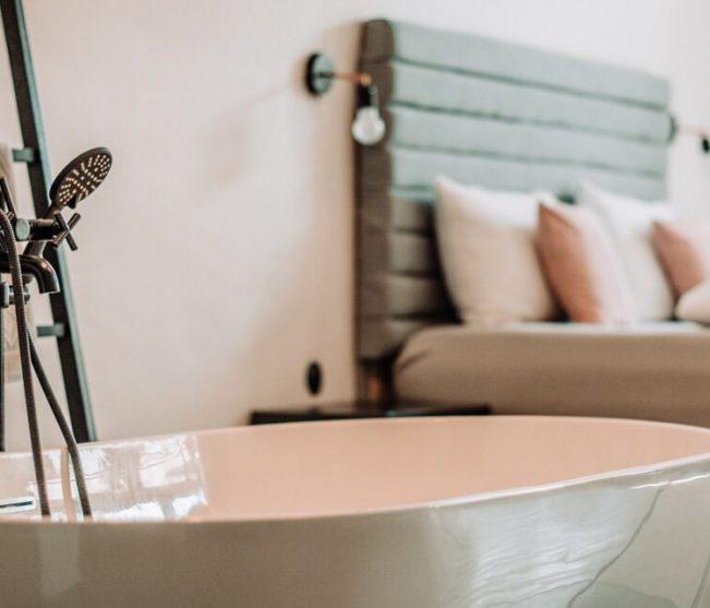 Pokój sypialniano- kąpielowy