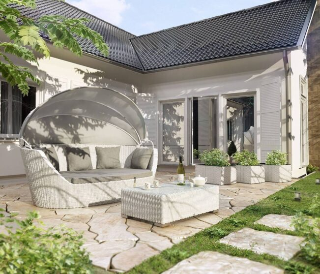 Prywatna strefa relaksu we własnym ogrodzie