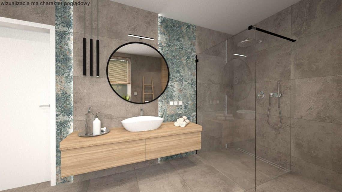 Aranżacja łazienki w stylu industrialnym