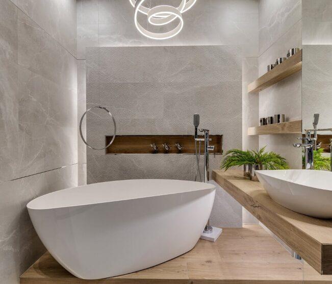 Łazienka w stylu glamour?