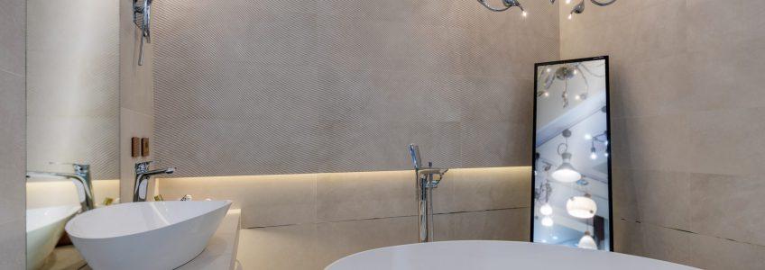 Lampy wiszące w łazience